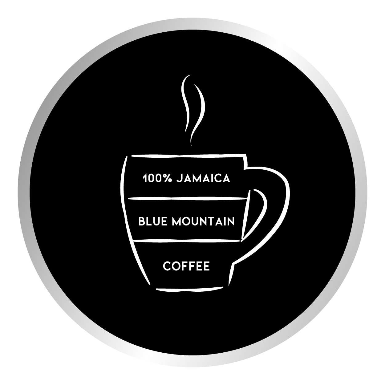 100 % Jamaica Blue Mountain Coffee